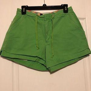 Cute green shorts